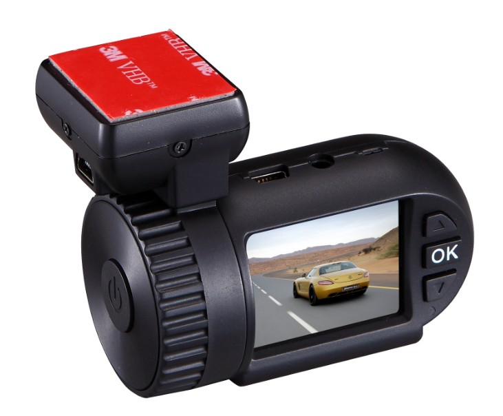 Mini 0801s Car DVR + GPS HD1080P G-Sensor