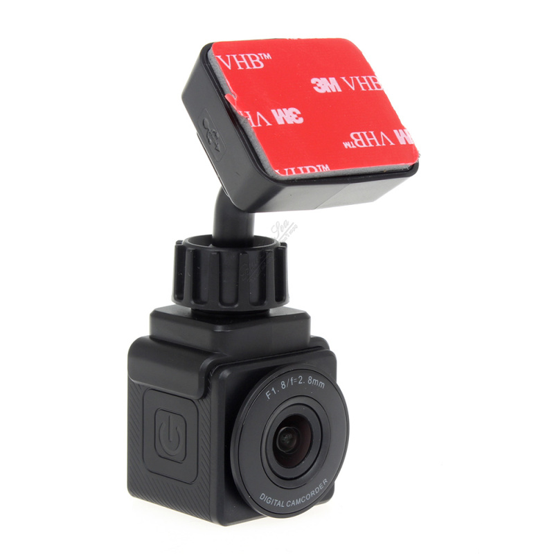BLACK Xplore C1+ Super Mini Wifi HD 1080P Car Dashcam with GPS & Bluetooth Remote